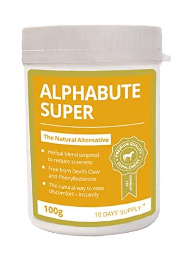 Global Herbs - Alphabute Super - Soin de solidité des articulations pour chevaux, 100 g