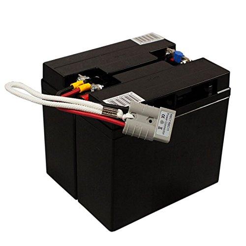 Batteria di ricambio per APC-Back-UPS RBC7 - modulo batteria pronto per la...