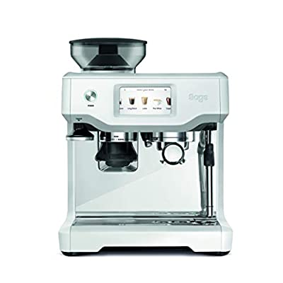 Sage Barista Touch Espresso machine 2 L Fully-auto Barista Touch, Espresso machine, 2 L, Coffee beans, Built-in grinder, 1680 W, White