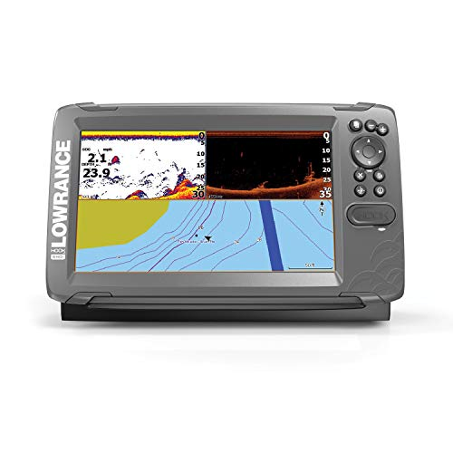 Lowrance HOOK2 9 - 9-inch Fish Finder with SplitShot Transducer and US / Canada Navionics+ Map Card …