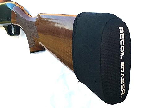Recoil Eraser Slip on Recoil Pad, Gel Filled, Black