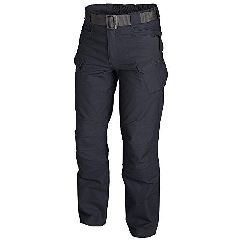 Helikon-Tex SP-utl-PC Pantalon Tactique Mixte Adulte XXL Bleu (Navy Blue)