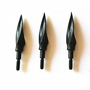 Rotary Sharp Blades Arrowhead 150 Grain Archery Broadheads Hunting Arrow Tips for Crossbow Bolts and Compound Bow