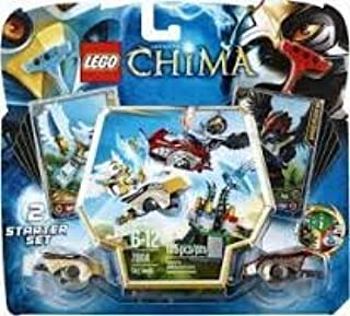 Amazon com: Game / Play LEGO Chima 70114 Sky Joust,Features canyon