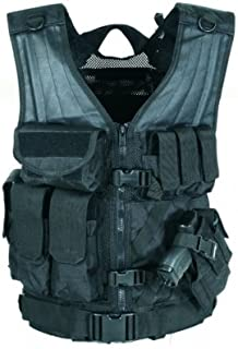 VooDoo Tactical 20-8112072330 MSP-06 Entry Assault Vest, Black Multicam, Large-XX-Large