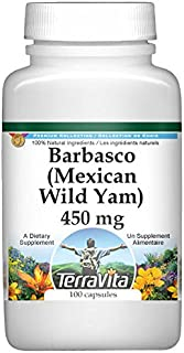 Barbasco (Mexican Wild Yam) - 450 mg (100 Capsules, ZIN: 519117)
