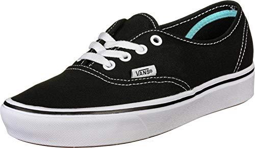 Vans Unisex Ua Comfycush Authe, 6.5, Medium Sneaker, Schwarz ((Classic) Black Vnvne), 38/39 EU
