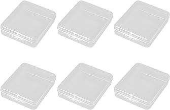 EXCEART 6 szt. etui do przechowywania małe mini pudełka do przechowywania elektroniczny organizer podróżny pudełko do prze...