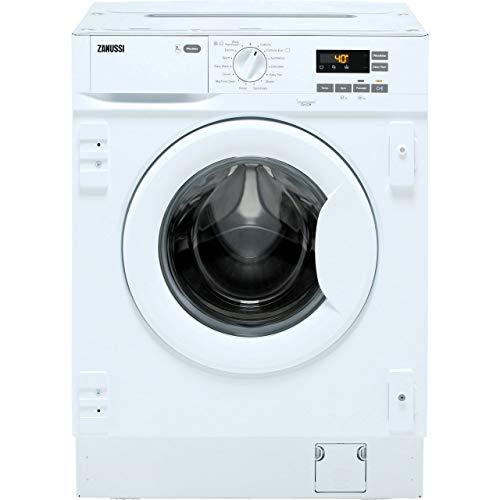 Zanussi Z714W43BI Integrated 7Kg Washing Machine with 1400 rpm - White - A+++ Rated