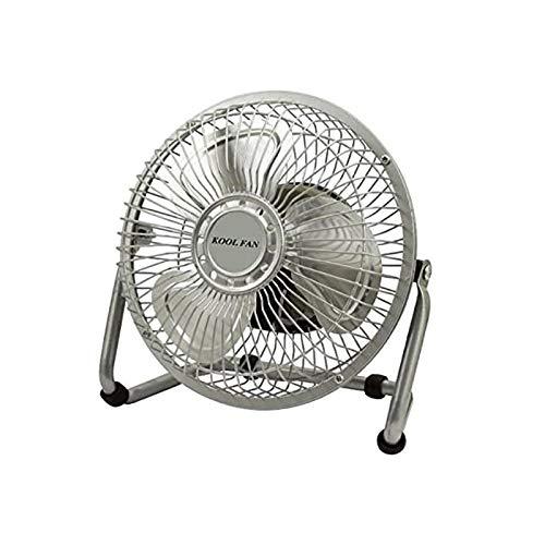 Kool Fan Ventilador Mesa sobremesa aspas Parrilla Metal metalico 6' 20w 15,24cm