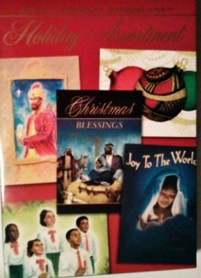 African American Expressions Christmas Holiday Cards