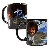 Bob Ross Large Color Changing Ceramic Coffee Mug   12 Ounces