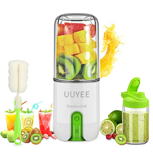 【UUYEE 16oz Portable Blender】Personal Blender for Smoothies and Shakes