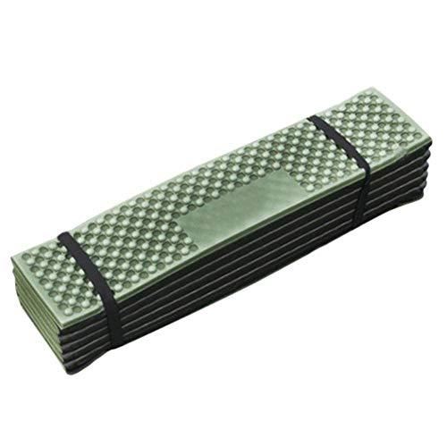 RENXIANSEN Matelas de camping - Mousse de qualité supérieure - Bonne flexibilité - Résistant à la déchirure - Facile à plier - Pour le camping, le yoga, la randonnée, le pique-nique.