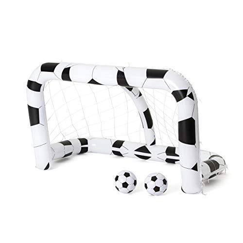 Bestway 52058 Soccer Net Badefigur, Schwarz, One Size