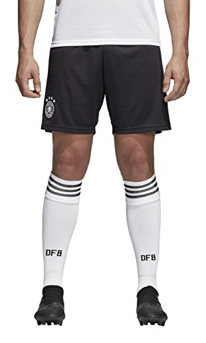 adidas Herren DFB Heim WM 2018 Shorts, Black/White, M