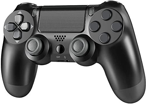 Controller Wireless per PS4, controller joystick gamepad, giroscopio a 6 assi e jack audio, per PS4 / Pro/Slim/PC/Laptop