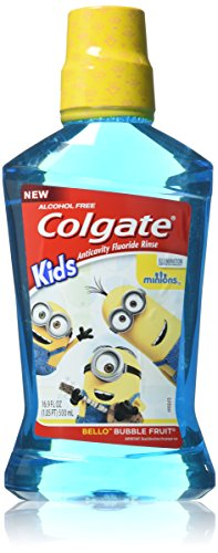 Colgate Kids Minions Bello Bubble Fruit Anticavity Fluoride...
