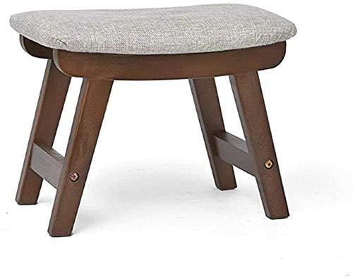 Opslag Banken Voetenbankje Wooden Shoe Bank Poef Chair Verwisselbare Linnen Omslag Hallway Zitting Gestoffeerd Voetsteun Voor Living Room |,D