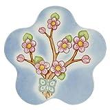 THUN - Sottopentola a Forma di Fiore in Porcellana - Cucina, per la Tavola - Idee Regalo Donna - Linea Color Your Easter - Porcellana - Ø 25 cm