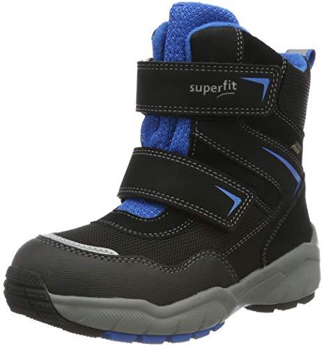 Superfit Jungen Culusuk 2.0 Gore-Tex Schneestiefel, Schwarz (Schwarz/Blau 01), 31 EU
