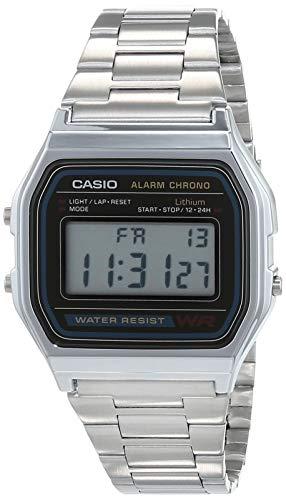 Casio A158WA - Reloj unisexo, ...