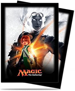 Magic: the Gathering - MTG Magic Origins Planeswalker Chandra Nalaar Card Sleeves (80 Count) Deck Protectors