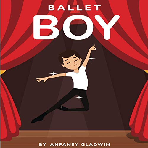 Ballet Boy audiobook cover art