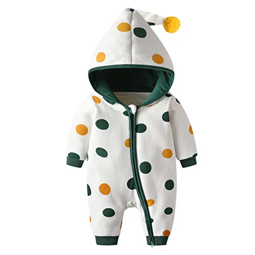 Bebone  Baby Kleidung Jungen Mädchen Strampler Neugeborenen Overall, 0-3 Monate, Grün 2