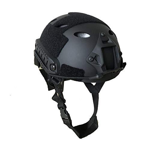 Implicitwh Taktischer Helm Army Fan Helm Kampfausrüstung Outdoor Sports Reithelm