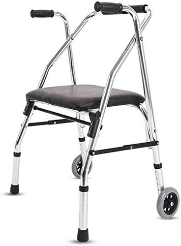 Standaard Walkers Walking Aid wandelstok 4 Bestanden Aanpassing Aluminium Walking Frame Met Wielen 4 voet krukken Walking Frames