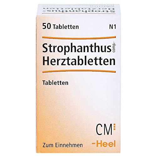 Strophantus comp. Herztabletten Heel, 50 St. Tabletten