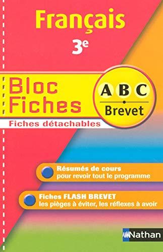 BLOC FICHES ABC FRANCAIS 3E