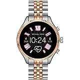 Michael Kors Access Lexington 2 Touchscreen Stainless Steel Smartwatch, Tri-Tone Rose/Gold/silver-MKT5080