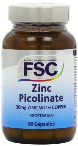 FSC 30mg Zinc Picolinate and Copper 90 Tablets