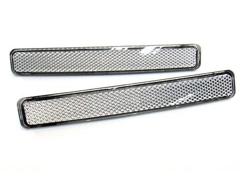 Lot de 2 réflecteurs de pare-chocs arrière gauche et droite pour Volkswagen Transporter T5 Caravelle Multivan 2003-11