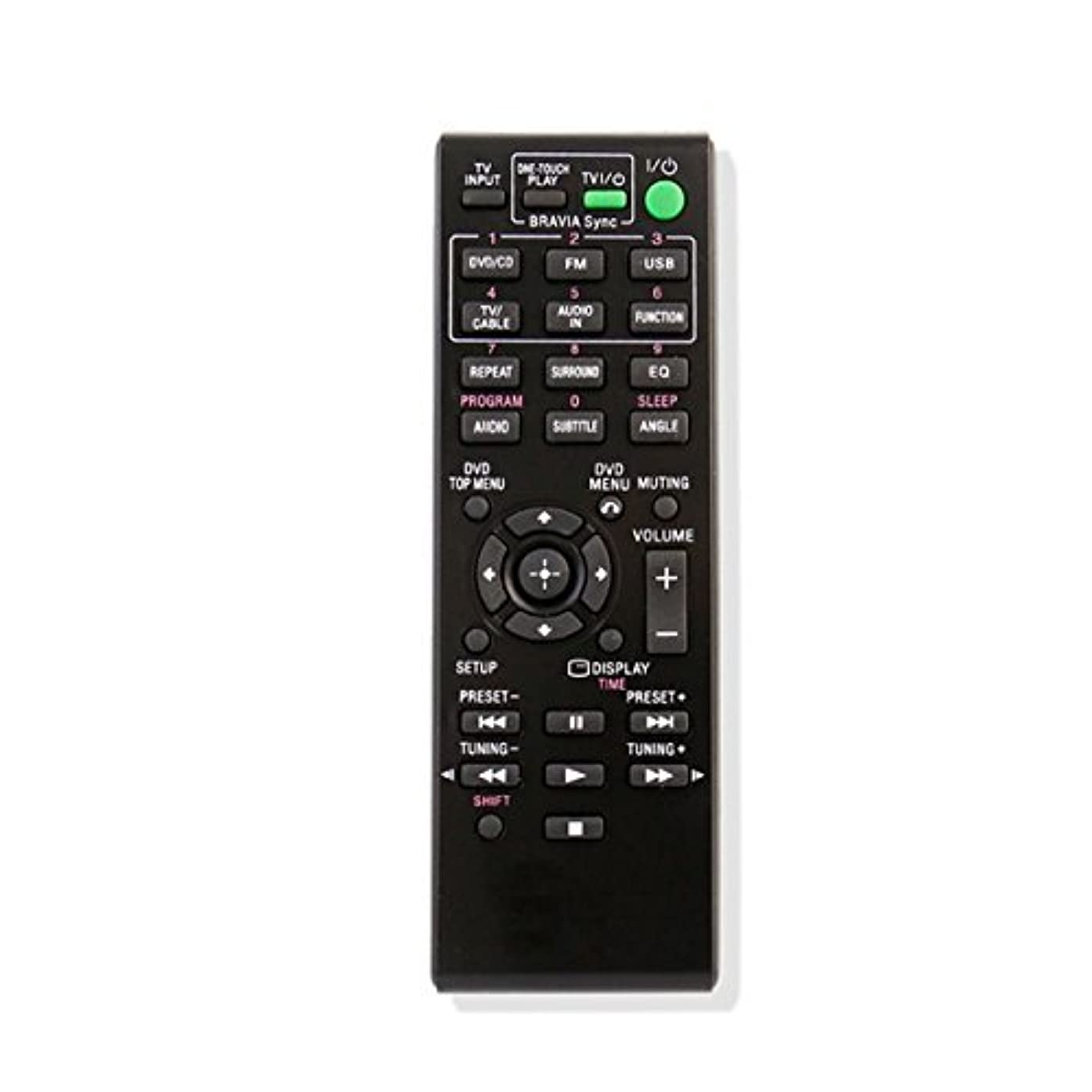 New Replacement Remote Control Fit for RM-ADU138 for Sony DAV-TZ140 DAVTZ140 HBD-TZ140 HBD-TZ140 DAV-TZ145 DAV-TZ150 HBD-TZ145 Home Theater (Certified Refurbished)
