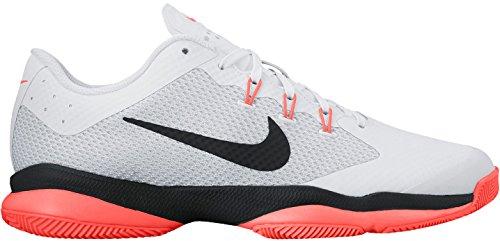 Nike WMNS AIR Zoom Ultra, Donna, White Black Hyper Orange P, 37.5 EU