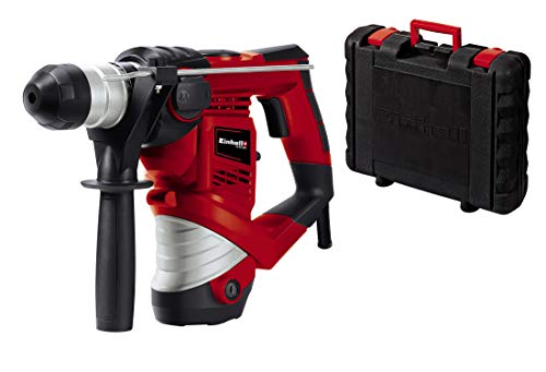 Einhell Marteau Perforateur TC-RH 900 (900 W, Mandrin SDS‐Plus, Perçage, Percussion, Burinage, Arrêt de Percussion