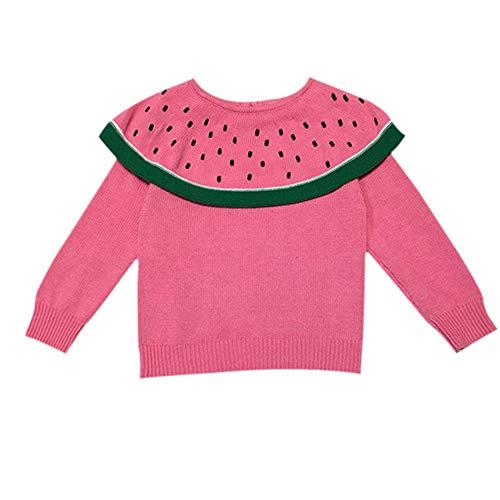 Timogee Mädchen Mode Shirts Tops Sweatshirt Sweater Blusen Party Verein Mädchen Streetwear Kostüm Oberteile Oktoberfest, Plaid Patchwork Rüsche Langarmshirt Beiläufig Pullover (Rosa,70)