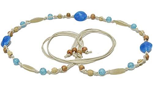 Cinturón Delgado De Mujer Con Perlas Esencial Conchas Vestido Trenzado Cinturón De Vestir Cinturón Trenzado Cinturón De Cintura