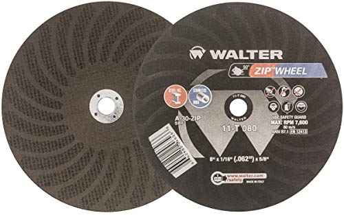Walter Surface Technologies 11T042 ZIP Cutoff Wheel - (Pack of 25) Durable Cutting Disc for General Purpose. Welding Accessories