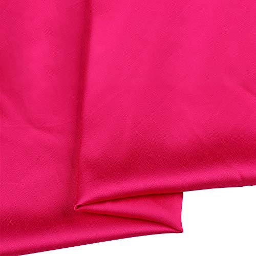 MUYUNXI Tela De Raso Forro De Tela para Vestidos De Novias Fundas Artesanías Vestidos Blusas Ropa Interior 155 Cm De Ancho Vendido por 2 Metro(Color:Rojo Ciruela)