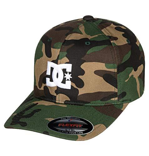 DC Shoes Herren Kappe Cap Star 2 - Mütze für Männer, camo, L/XL, 55300096