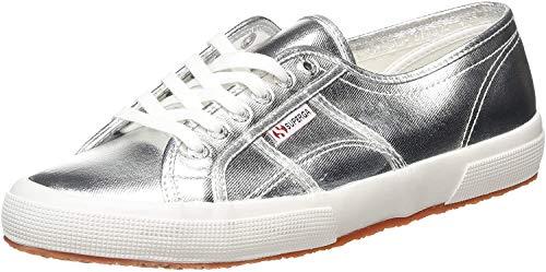 Superga Damen 2750-Cotmetu Sneaker, Silber 031, 42.5 EU