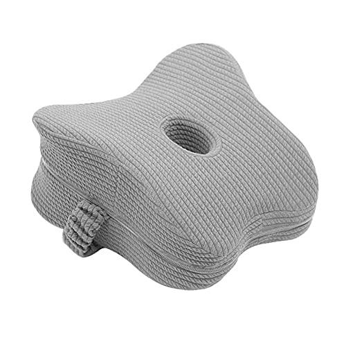 OIHODFHB Almohadas de piernas almohadas laterales ergonómicas, almohadas de la rodilla de espuma de memoria con correas de hombro, almohadas laterales con almohadillas de soporte de piernas extraíbles