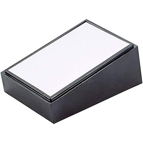 Teko 104.9 Pult-Gehäuse 213 x 130 x 77 Kunststoff, Aluminium Schwarz, Silber 1 St.