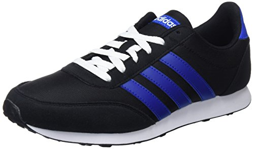 adidas V Racer 2.0, Zapatillas para Hombre, Negro (Core Black/collegiate Royal/ftwr White), 41 1/3 EU