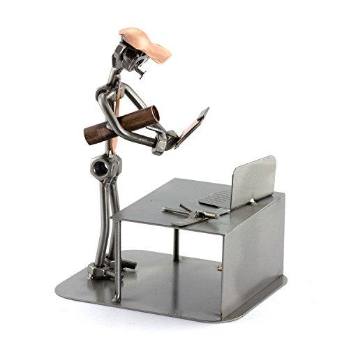 Steelman24 I Ingeniero I Made in Germany I Idea para Regalo I Figura de metalo
