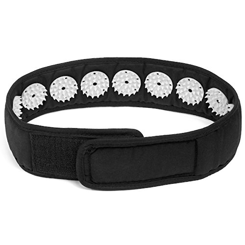 AcuSpur™ Acupressure Wrap/Headband for Neck and Head Pain Relief and Muscle Stress & Relaxation/Meditation. Acupuncture Massage Facial Skin Lift Up and Chin Up Belt